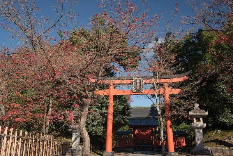 Kyoto, Japan De Tempel Tenryu -tenryu-ji in het Sagano-district in Kyo royalty-vrije stock foto