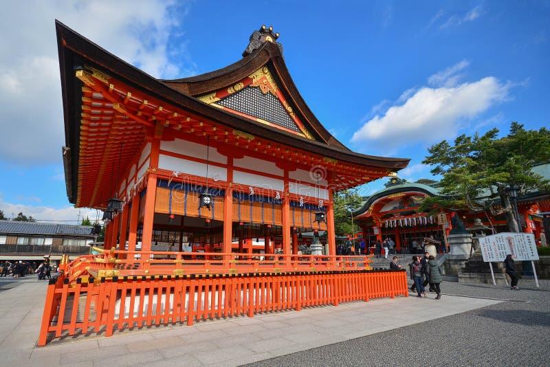 KYOTO, JAPAN : December 7, 2016 - Fushimi Inari Taisha Shrine. In Kyoto, Japan stock photography