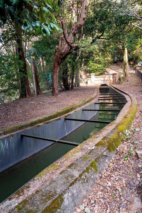 Western Style Aqueduct at Kyoto stock photos