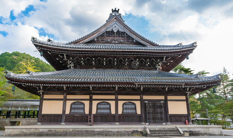 KYOTO, JAPAN - OCTOBER 08, 2015: Nanzen-ji, Zuiryusan Nanzen-ji, formerly Zenrin-ji. Zen Buddhist shrine temple in Kyoto, Japan. royalty free stock photo