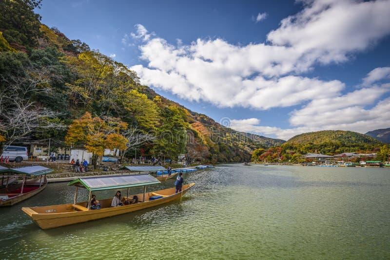Kyoto, Japan River royalty free stock images