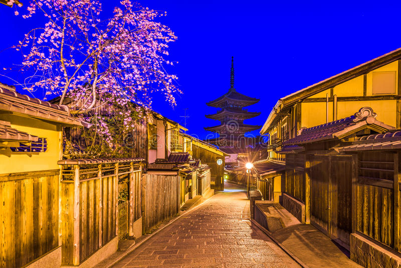 Kyoto, Japan in Spring royalty free stock images