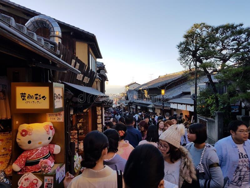 Kyoto Japan tempel royaltyfria foton
