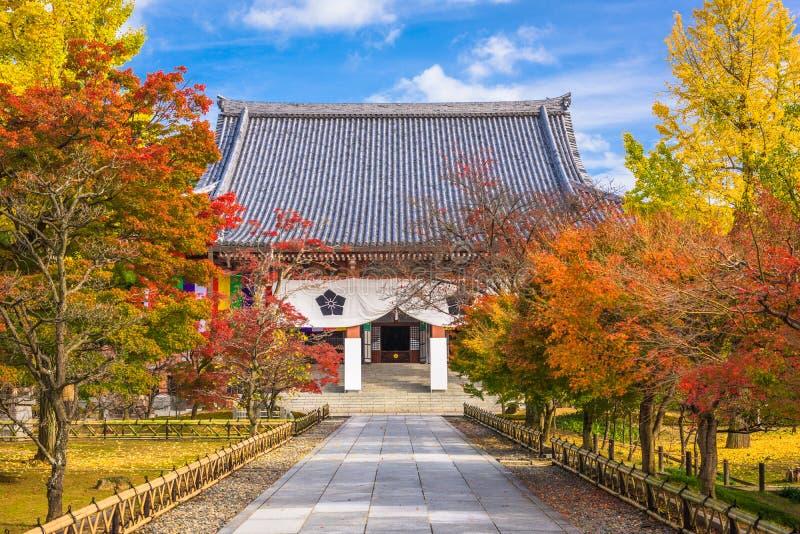 Kyoto, Japon à Chishaku-dans le temple photographie stock libre de droits
