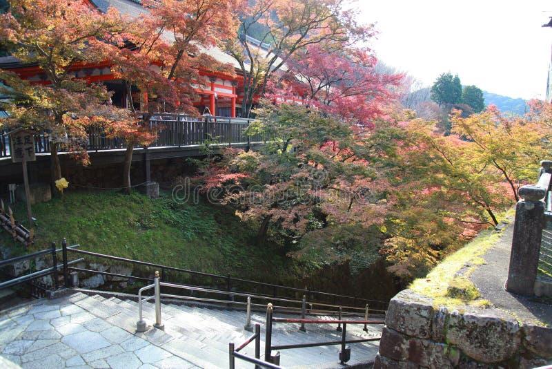 Kyoto ; Le Japon - 25 novembre 2017 : le temple de Kiyomizu Dera image libre de droits