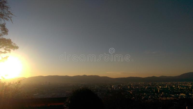 Kyoto miasta widok obraz royalty free