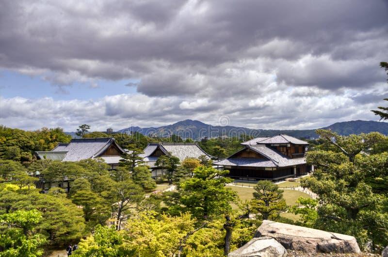 Kyoto, Nijo-Schloss lizenzfreies stockfoto