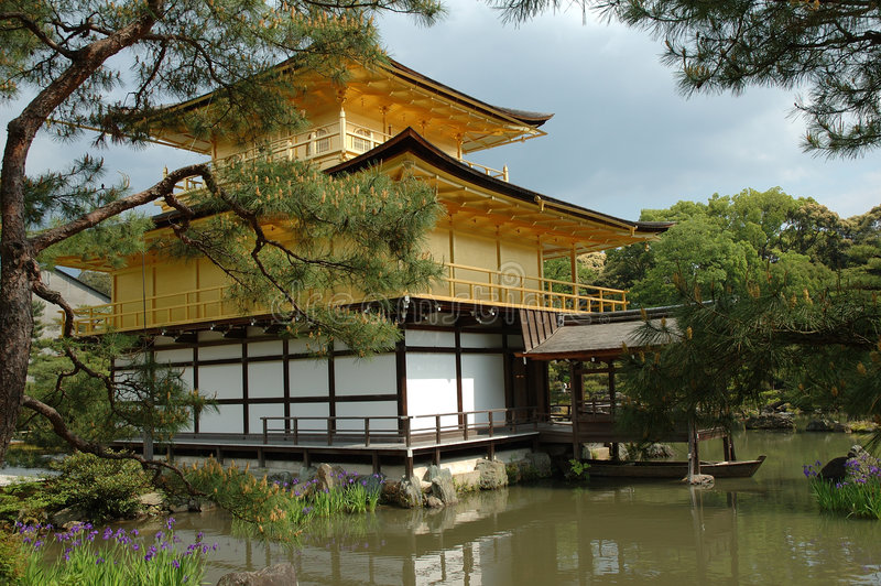 Download Kyoto pavilion stock image. Image of cultural, nature - 1923993