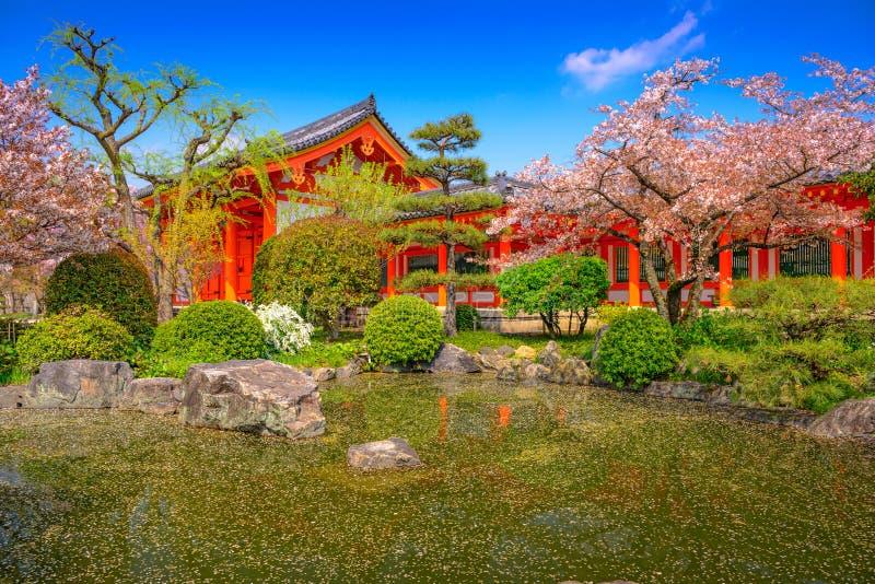Kyoto in primavera fotografia stock libera da diritti