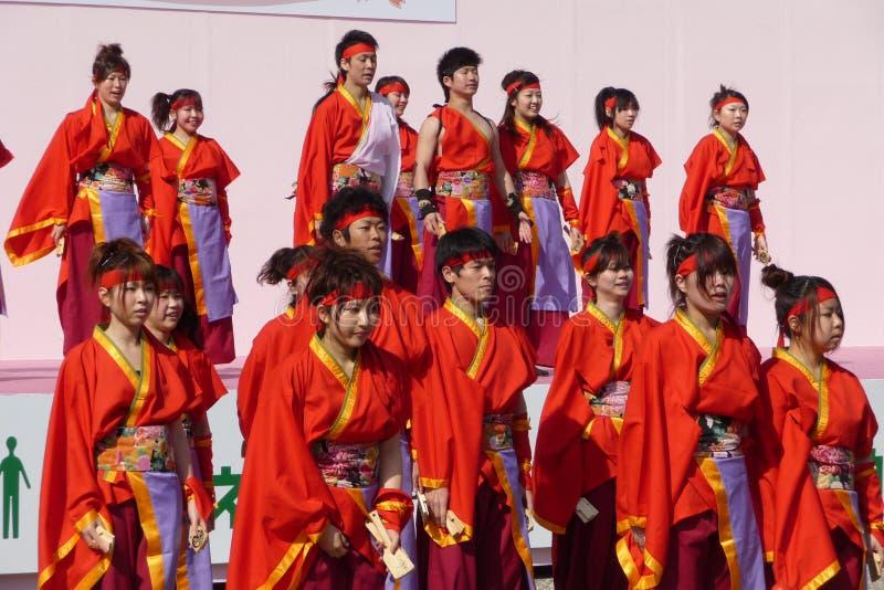 Download Kyoto Sakura Yosakoi 2010 - Dance Festival Editorial Photo - Image of dancers, trees: 14418226