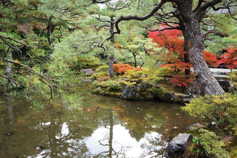 Kyoto See lizenzfreie stockbilder