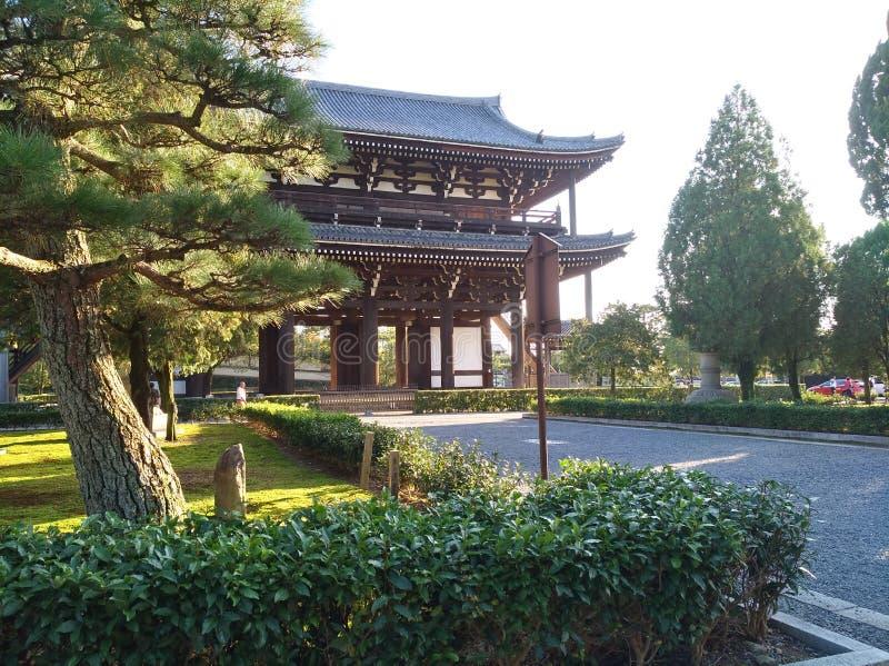 Kyoto Shrine stock photography