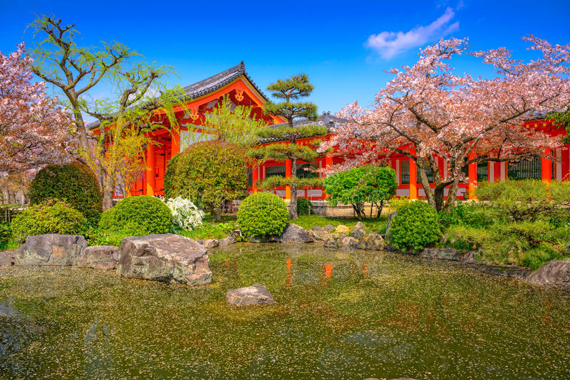 Download Kyoto in Spring stock image. Image of garden, cherry - 81874567