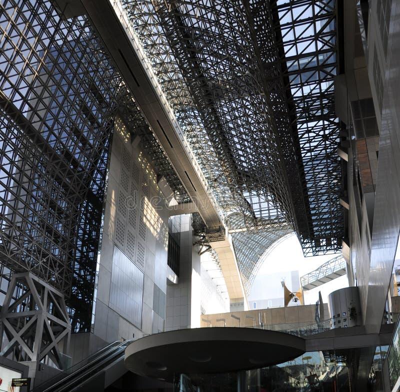 Download Kyoto stacja obraz stock editorial. Obraz złożonej z dach - 28964914
