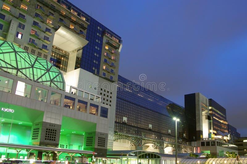 Download Kyoto Station stock photo. Image of kyoto, night, dusk - 14958122