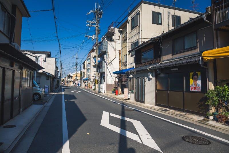 Kyoto street stock image