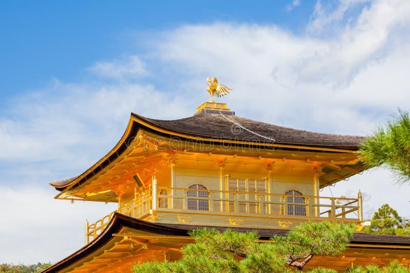 Kyoto Złota świątynia obrazy royalty free