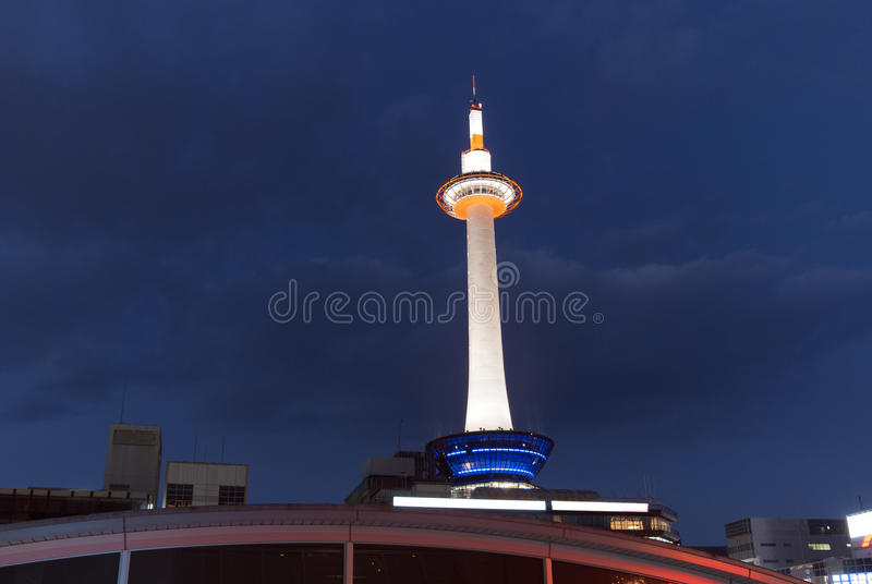 Kyotofernsehkontrollturm Stockfotografie