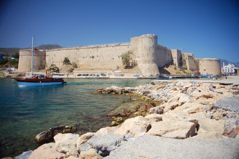 kyrenia замока стоковая фотография rf