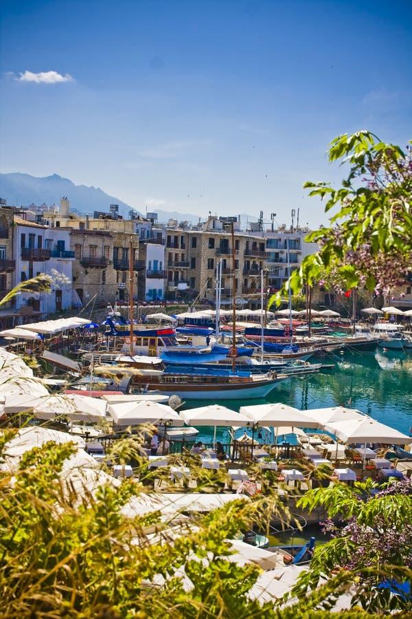Kyrenia, Chypre du nord photos libres de droits