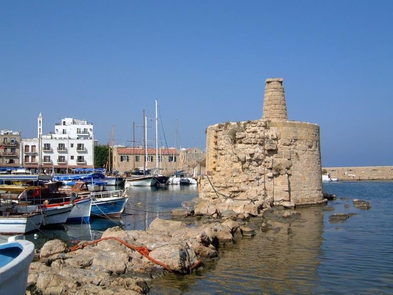 Kyrenia Harbor Cyprus stock photos