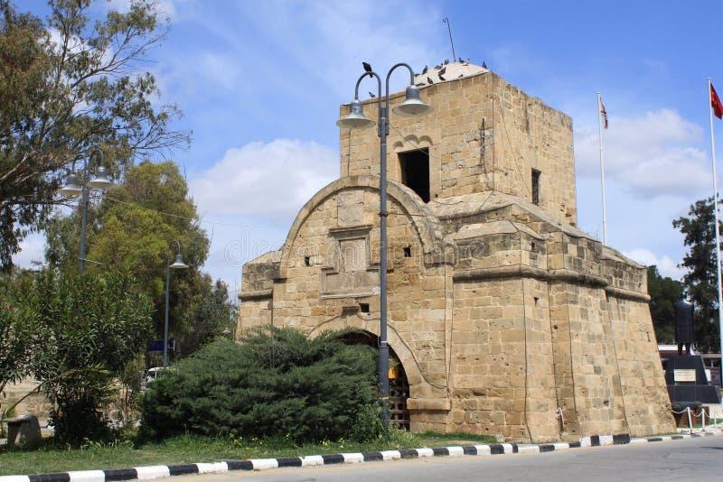 Kyrenia port arkivfoto