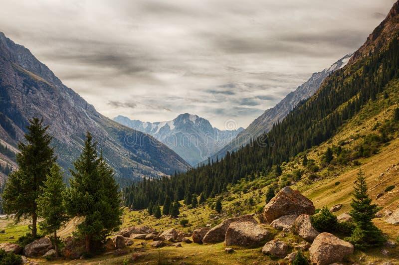 kyrgyzstan Klyfta Barskoon arkivbilder