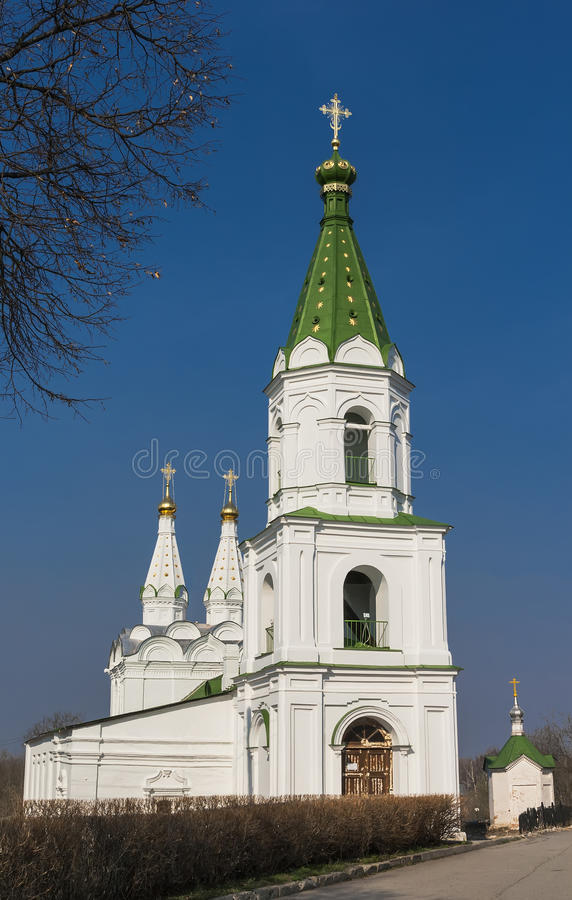 Kyrka av den heliga anden i Ryazan royaltyfri foto