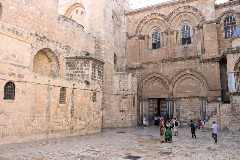 KYRKA AV DEN HELIGA GRIFTEN JERUSALEM, ISRAEL fotografering för bildbyråer