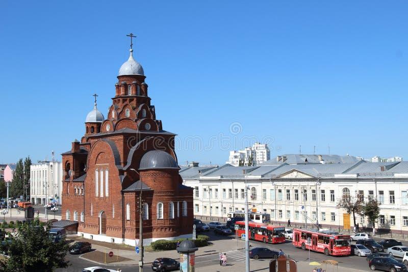 Kyrka av den heliga Treenighet eller museum av kristallen, Vladimir stad, Ryssland royaltyfri foto