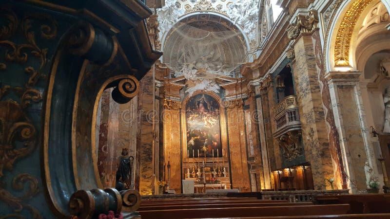 Kyrka av den San Luigi deien Francesi royaltyfri bild
