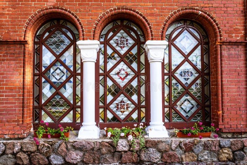 Kyrka av helgon Simon och Helen i Minsk, Vitryssland royaltyfria foton