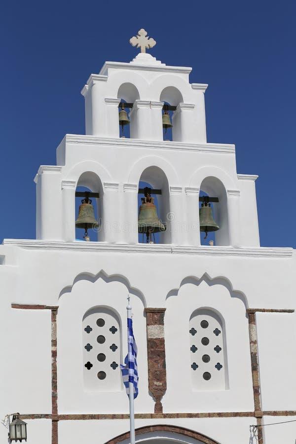 Kyrka av Pyrgos arkivbild