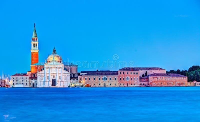 Kyrka av San Giorgio Maggiore i Venedig, Italien royaltyfri foto
