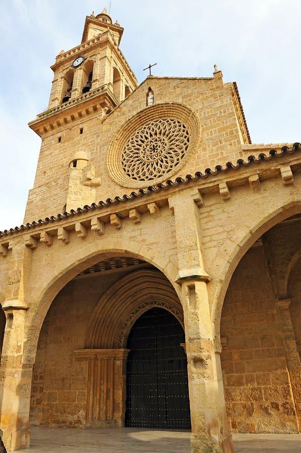 Kyrka av San Lorenzo, Cordoba, Spanien arkivbild