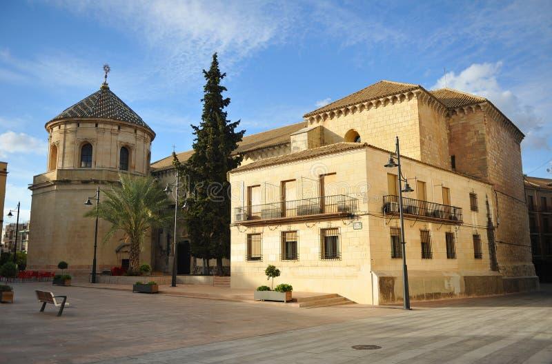 Kyrka av San Mateo i Lucena, Cordoba landskap, Andalusia, Spanien fotografering för bildbyråer