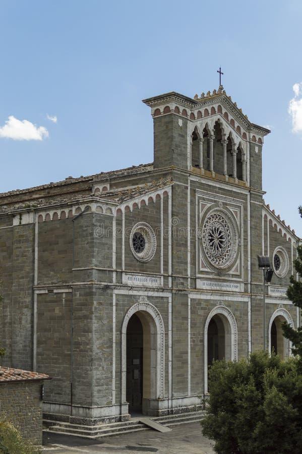Kyrka av Santa Margherita arkivbild