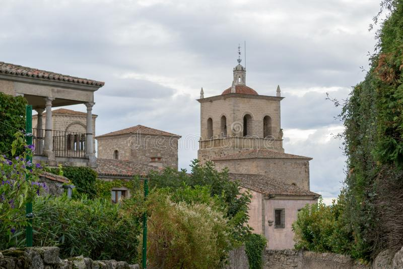 Kyrka av Santa Maria la Mayor (Trujillo, Spanien royaltyfri foto