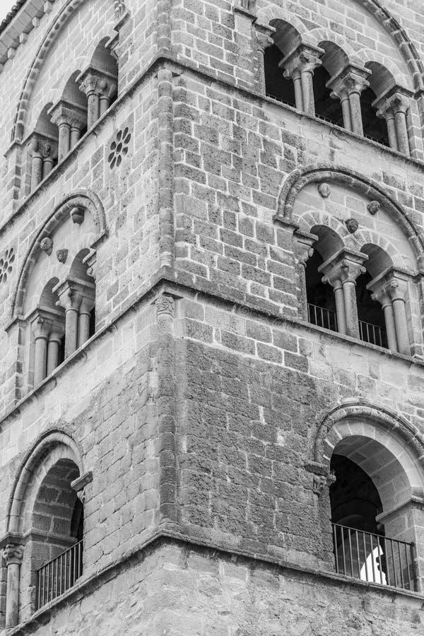 Kyrka av Santa Maria la Mayor (Trujillo, Spanien royaltyfri bild