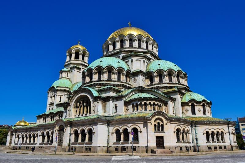 Kyrka av St Alexander Nevsky royaltyfria bilder