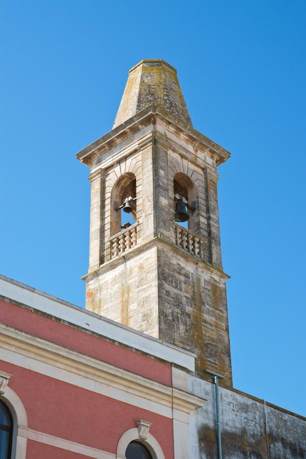 Kyrka av St Chiara Noci Puglia italy arkivfoto