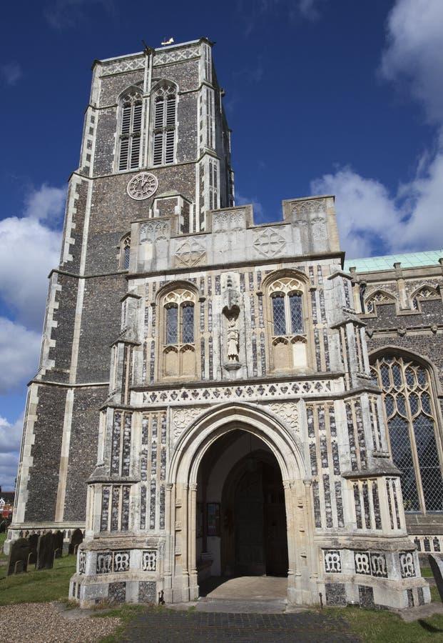 Kyrka av St Edmund, Southwold, Suffolk, England royaltyfri fotografi