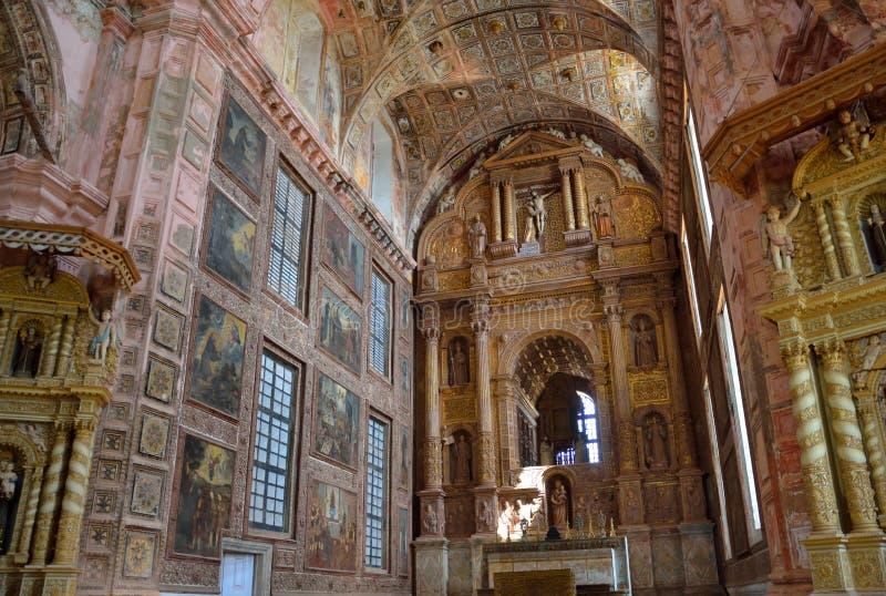 Kyrka av St Francis av Assisi arkivfoto