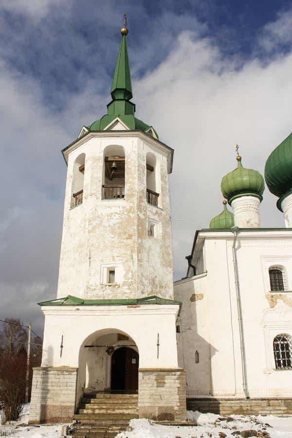 Kyrka av St John klockstapeln royaltyfria foton