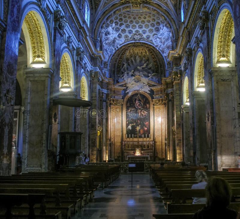 Kyrka av St Louis av franskan arkivbild