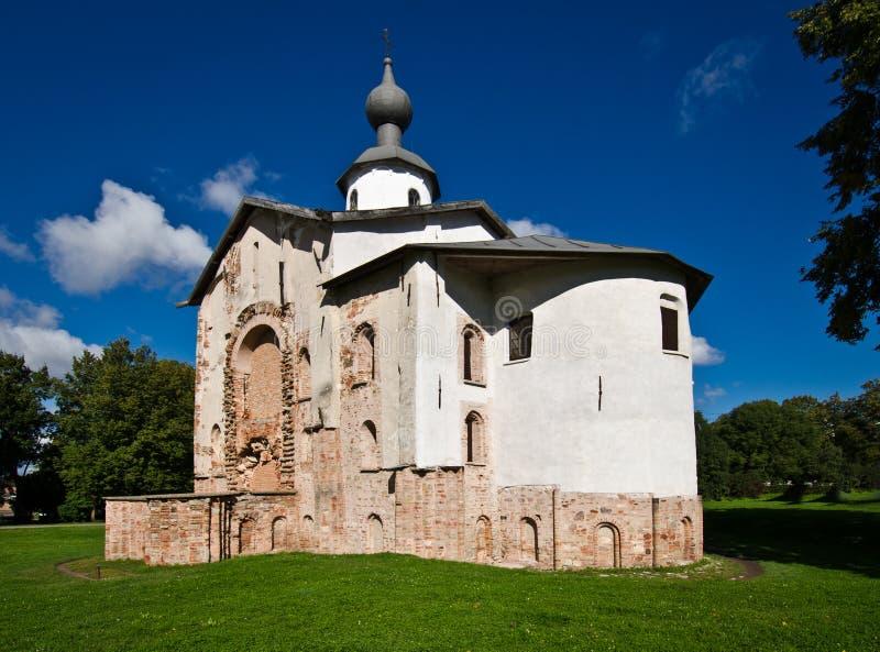 Kyrka av St Paraskeva Piatnitsa royaltyfri fotografi