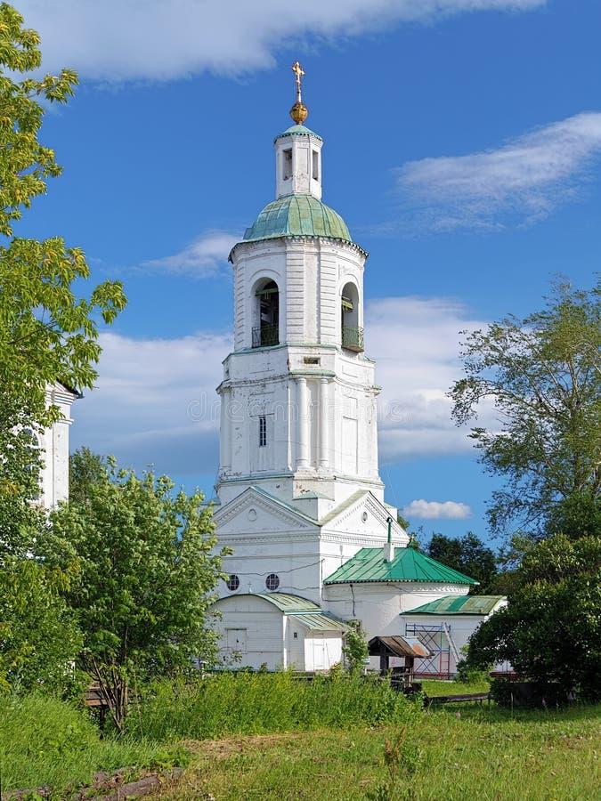 Kyrka av St Stephen av permanenten i Kotlas, Ryssland arkivfoton