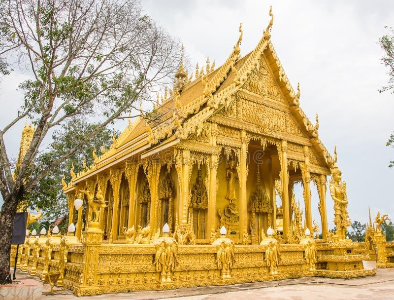 Kyrka av Thailand royaltyfria foton