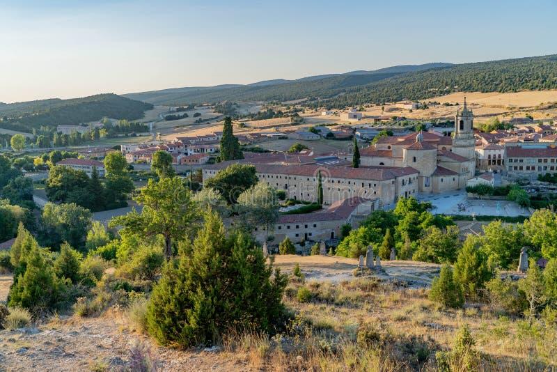 Kyrka av Virgenen del Camino fotografering för bildbyråer