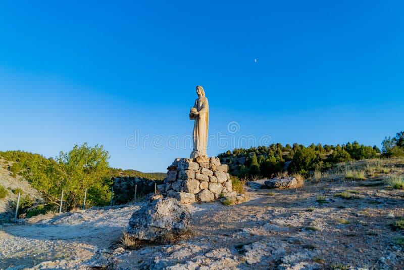 Kyrka av Virgenen del Camino royaltyfria foton
